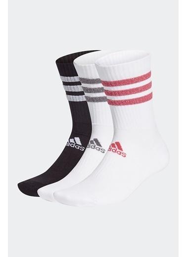 adidas Adidas Gh7542 Renkli Unisex Koşu Yürüyüş Çorap Beyaz